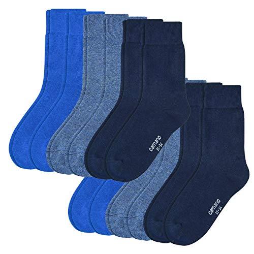Camano Junior Socken 12er Pack, Größe:35-38, Farbe:Blue (0030)