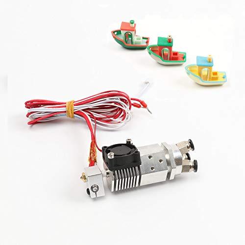 HE3D - Repuestos 3 en 1 para Impresora 3D, extrusora multicolor, tres colores, 12V