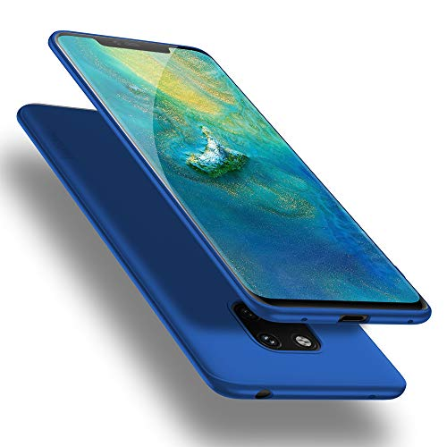X-level Huawei Mate 20 Pro Hülle, [Guardian Serie] Huawei Mate 20 RS Hülle, Soft Flex Silikon Premium TPU Handyhülle Schutzhülle für Huawei Mate20 Pro / Mate20 RS Hülle Cover - Blau