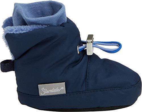 Sterntaler Jungen Baby Stiefel mit Klettverschluss, Farbe: Marine, Größe: 21/22, Alter: 18-24 Monate, Artikel-Nr.: 5101521