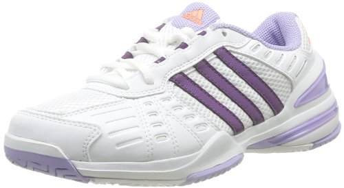 Adidas Rally Court, Scarpe da tennis donna Bianco White - Weiß (Running White Ftw / Tribe Purple S14 / Glow Purple S14) 38 (38 EU)