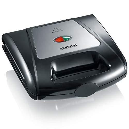 Severin Multi-Sandwich-Toaster SA 2968 sw/Chrom Toaster 4008146014536