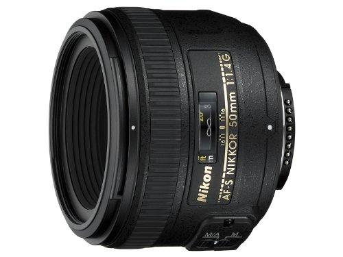 Nikon 50mm f/1,4G lente