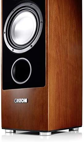 Canton Ergo 690 Dc Floor Speaker 170 320 Watt Wenge Brown Mp3 Hifi