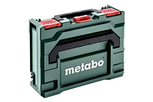 Metabo Werkzeugkoffer leer Metabox 118 (Koffer aus ABS, ohne Werkzeug, Box robust, bruchsicher, stapelbar, 396x296x118 mm, Volumen 8.4 l) 626882000