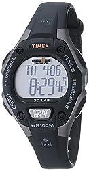 top rated Timex Ladies Iron Man 30 Circle Digital Quartz Watch, Black / Gray – T5E961 2021