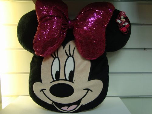Minnie Mouse Head Cushion