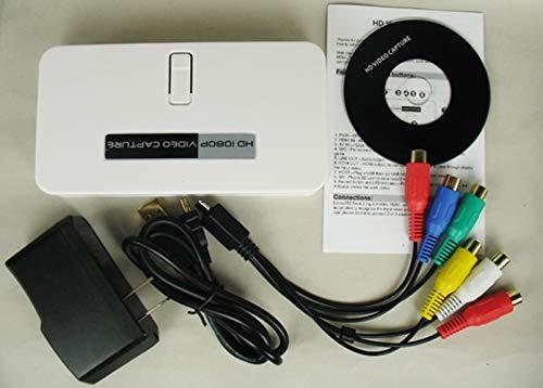 1080P HD Videoaufnahme HDMI / YPbPr Game Capture Recorder Box + Videobearbeitungssoftware