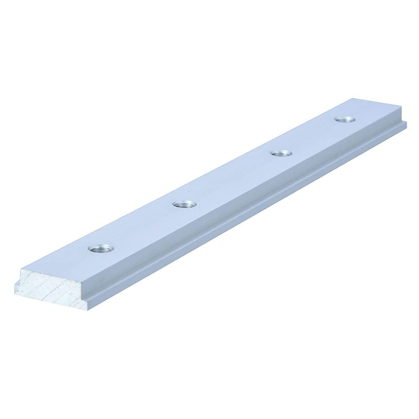 MEIZXIU M6 200mm Slide Slab T Track Slot for T-Slot T-Track Miter Track Fixture Slot Router Table Woodworking Tools