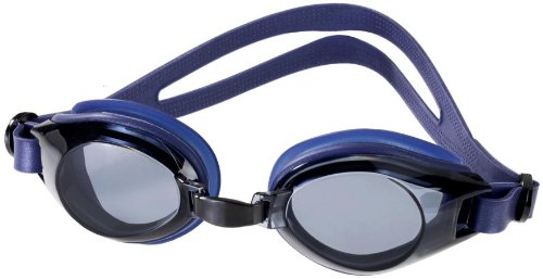 Limuwa Schwimmbrille DELUXE mit Antibeschlag- und 100%-UV-Schutz + Tasche