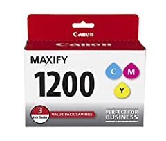 Genuine Canon ink is recommended for the best experience with Canon Printers Dual Resistant High-Density Inks High Density inks produce crisp text and are highlighter & smudge resistant Pigment based ink formulation for dark text and bright colors on...