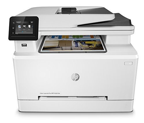 HP Color LaserJet Pro M281fdn Multifunktions-Farblaserdrucker (Drucken, scannen, kopieren, Faxen, LAN, Duplex, Airprint) weiß