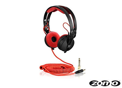Zomo Kabel DeLuxe HD 25 spiral 3,5 m (40180-CRD35) rot