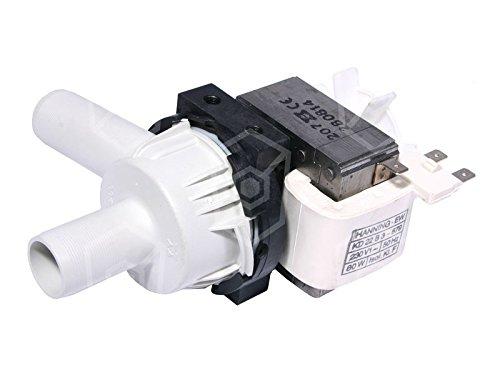 Ablaufpumpe HANNING Typ KD22B3-679 für Spülmaschine 230V 80W 50Hz Eingang ø 24mm Ausgang ø 24mm