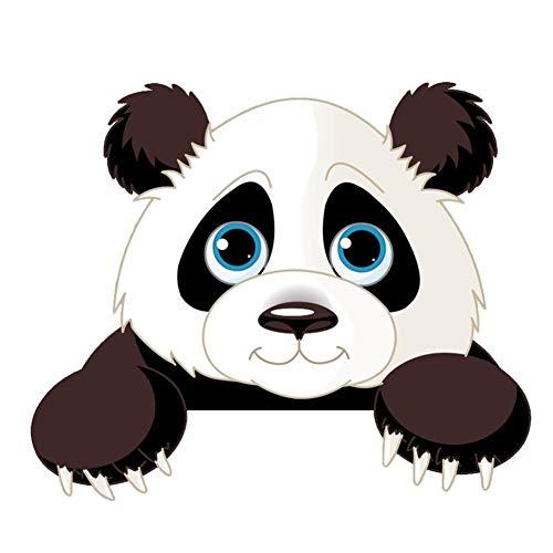 Lindo Etiquetas Engomadas Del Interruptor De La Panda Elefante Gato Jirafa De Luz For Habitaciones De Niños Del Cuarto De Niños Hogar De La Historieta Animales Pared De La Etiqueta Del Mural Del Arte