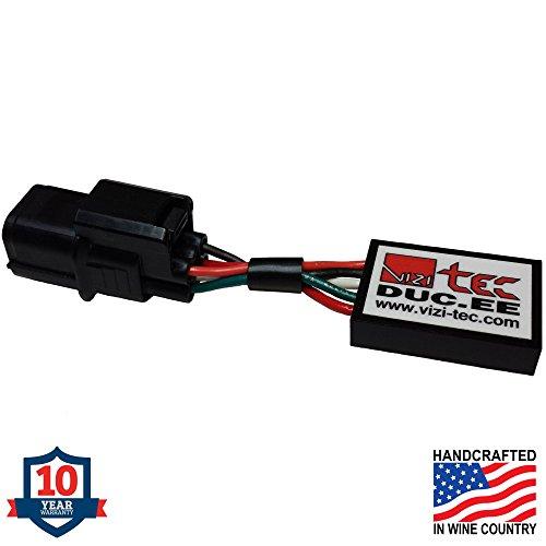 Vizi-Tec Exhaust Valve Servo Eliminator Compatible with/Replacement for Ducati B. 10 yr Warranty