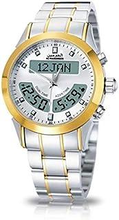 ساعة يد رجالي من الحرمين ، انالوج و ديجيتال ، ستانلس ستيل ، متعدد الالوان ، HA-6102WG