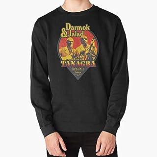 تي شيرتات - تي شيرت Live at Tanagra dark mok and jalad darmok jalad Nerdy Nerd geek geeky sci Band Music (سويت شيرت أسود S)