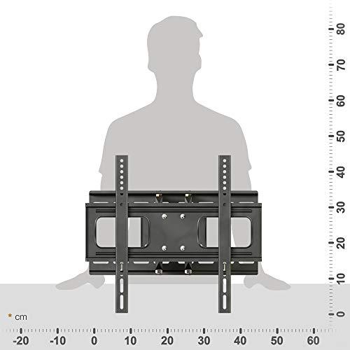 RICOO LCD TV Wandhalter Schwenkbar Neigbar S1544 Fernseher Wandhalterung Halterung Fernsehhalterung LED Flachbildschirm ca.76-165cm / 30′- 32′ – 42′ – 47′- 55′ – 65′ Zoll - 5