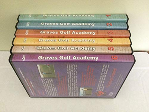 Graves Golf Academy Presents: The Seven Principles of Golf Improvement. Priniples 1 - 7 in 6 DVDs