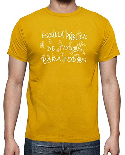 latostadora - Camiseta Educación Pública para Hombre