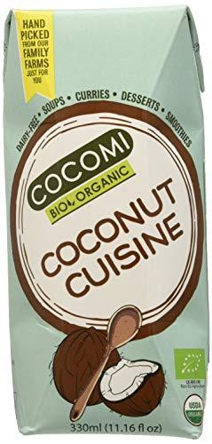 Crema de coco para cocinar BIO - Cocomi - caja de 12 uds de 330 ml. (Total 3960 ml.)