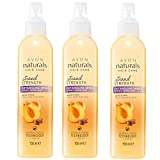 Espray desenredante natural para cuidado del cabello, con aroma de albaricoque y karité (3 unidades de 150 ml)