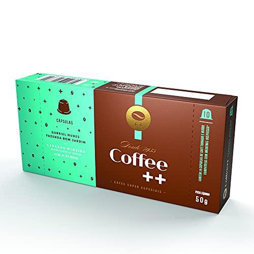Cápsula de Café Especial Cerrado Mineiro Coffee Mais, Compatível com Nespresso, Contém 10 Unidades