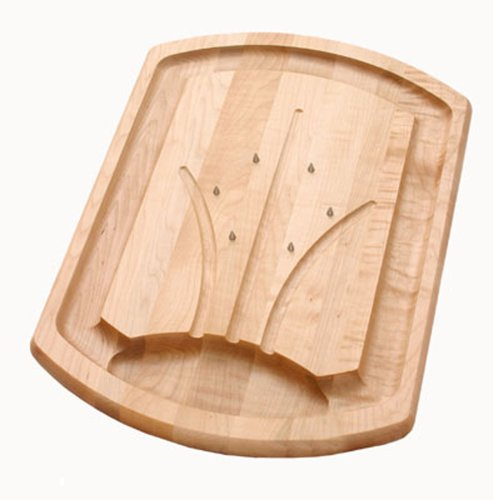 Best Maple Wood Carving Board with Spikes