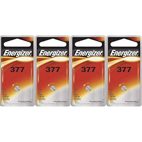 4 NEW ENERGIZER 377 376 SR626SW SR626W WATCH...