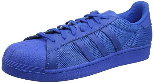 adidas Herren Superstar Blue B42619 Sneakers, Blau (Bluebird/Bluebird/Bluebird), 44 EU