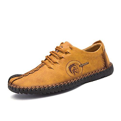 Zapatos Cuero Hombre Casual Cordones Oxford Trabajo