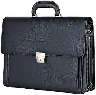 RENATO LANDINI Black Leather Bag/Move/R1152LA