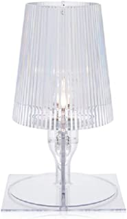 Kartell Take, Lampe de Table, Cristal