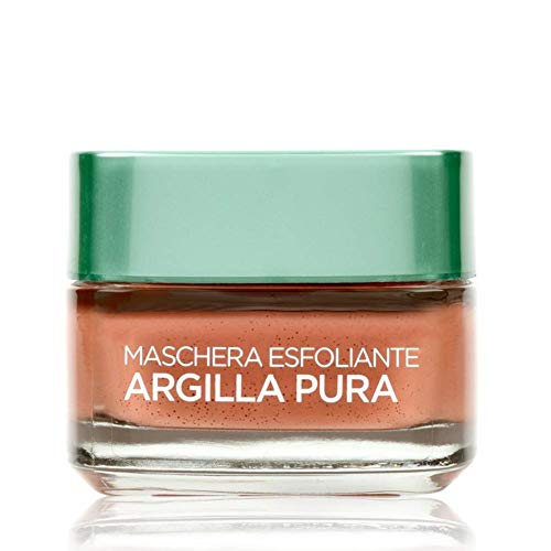 L'Oréal Paris Argilla Pura Maschera Viso Esfoliante, 50 ml