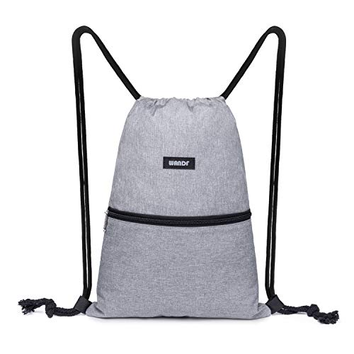 Drawstring Backpack Bags Water Resistant Lightweight Custom New Horizons Gym Sackpack for Hiking Yoga Swimming Travel Beach
