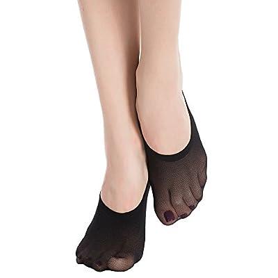 Stocking Fox Women's 12-Pack Non-Slip No-Show Liner Sock