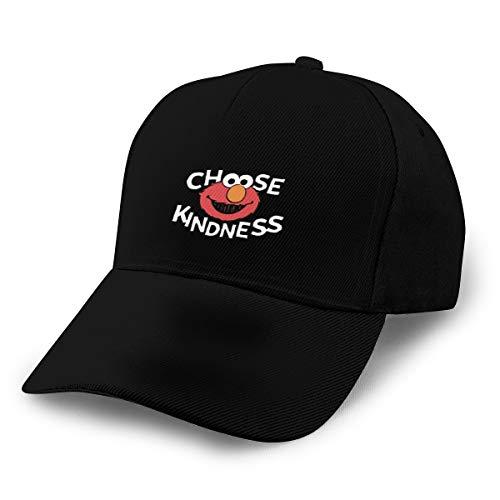 HsHdesign Men/Women Elmo's World 3D Printing Novelty Hat Adjustable Structured Hat for Sports Black