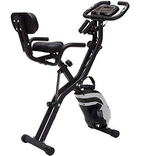 WJFXJQ Mini Bike Family Mini Fitness Bici Perdita di Peso Attrezzatura Sportiva Pieghevole da Interno Mini Bike