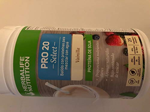 Herbalife Pro 20 Select – Protein Shake Prepared with Water