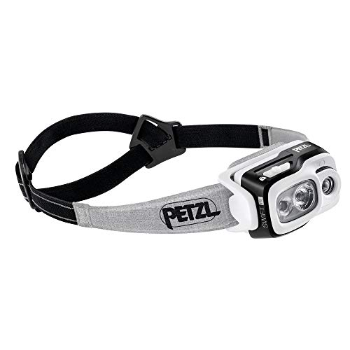 PETZL - Swift RL 900 lumens, Reactive Lighting Technology, Black