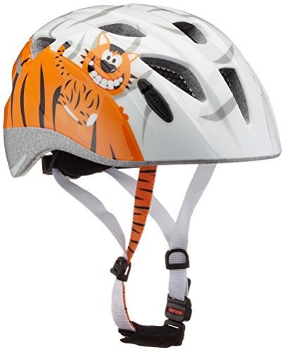 ALPINA XIMO Fahrradhelm, Kinder, white little tiger, 49-54