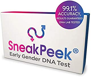 SneakPeek Early Gender DNA Blood Test - Lab Tested 99.1% Accurate¹ Baby Gender Predictor Test Kit (Standard)