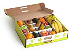 Designed for workplaces, Branch to Box delivers an assortment of quality, ready to eat fruit to fuel your team. 25 +/- servings of fresh fruit only ideal for an office of 7-10 people 23-28 pieces of fruit; Each box will always have apples, pears, and...
