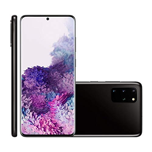 Smartphone Samsung Galaxy S20+ 128GB 6.7' 8GB RAM 64+12+12MP+ToF Preto