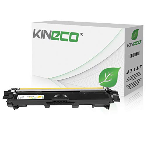 Kineco Toner kompatibel für Brother TN-246 TN246 für Brother DCP9017CDWG1, MFC-9142CDN, HL3142CW, DCP-9017CDWG1, DCP-9022CDW, HL-3152CDW, MFC-9342CDW, HL-3172CDW, MFC-9332CDW - Yellow 2.200 Seiten