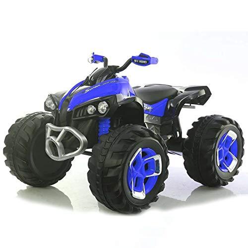 Quad eléctrico Infantil 12v - Azul . Moto eléctrica para niños con Mando Control Remoto