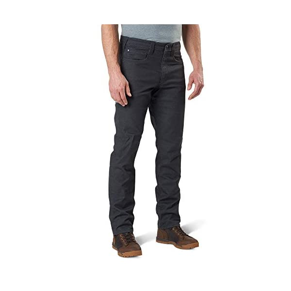 5.11 Tactical Men's Defender-Flex Slim Pants, Twill Poly-Cotton, Outdoor Casual Bottom, Style 74464