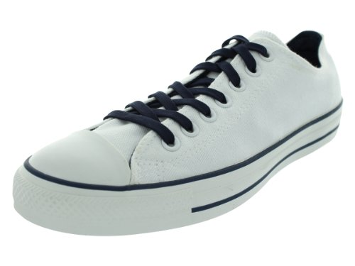 Converse Unisex Chuck Taylor all Star Core Ox Sneaker, Bianco (White/Dress Blues), 15 M US Women / 13 M US Men