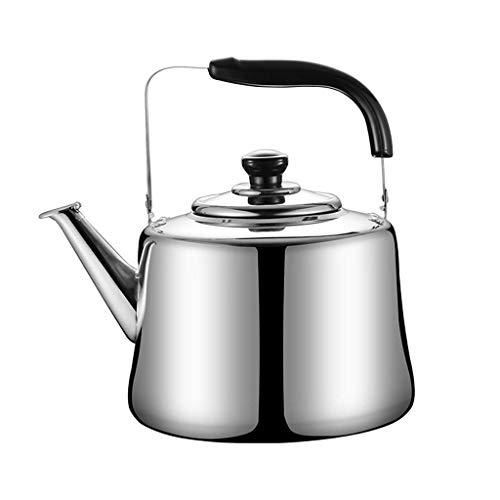 Wasserkocher Teekessel Edelstahl Induktionsherd Gas Gas Allgemeine automatische Pfeife Gesundheit Wasserkocher von zu Hause Wasserkocher, 3L, 7L, gebürsteter Edelstahlkessel